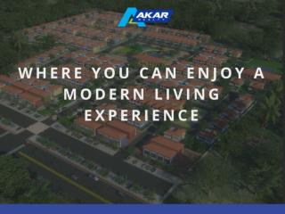 Where you can enjoy a modern living experience
