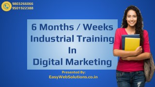 Digital Marketing Course, Training & Certification