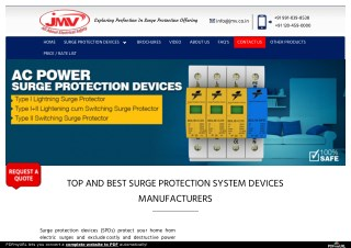 surge protection device manufacturer in india