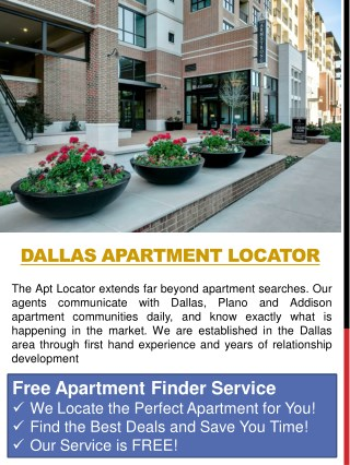 Dallas Apartment Locator