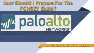 Pass your Palo Alto Networks PCNSE7 Exam With Dumps