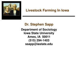 Livestock Farming In Iowa