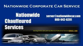 Nationwide Corporate Car Service