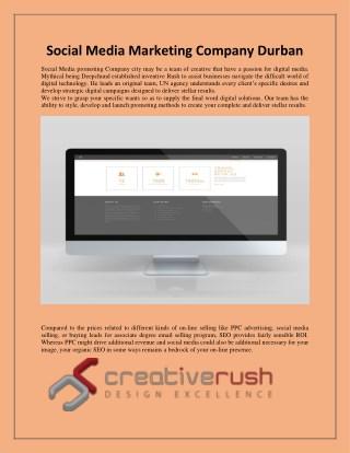 Social Media Marketing Company Durban