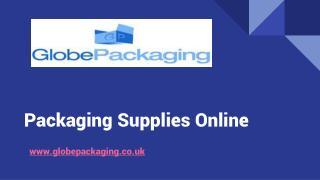 Packaging Supplies Online