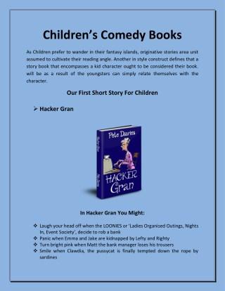 Children's comedy books