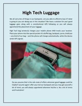 High tech luggage - Symphoniabags