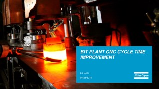 CNC CYCLE TIME IMPROVEMENT