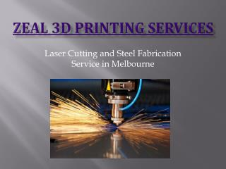 Laser Cutting and Steel Fabrication Service in Melbourne