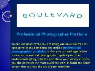 Professional Photographer Portfolio