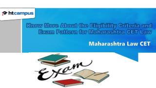 Know More About the Eligibility Criteria and Exam Pattern for Maharashtra CET Law
