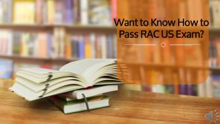 RAC US Dumps with 100% passing guarantee