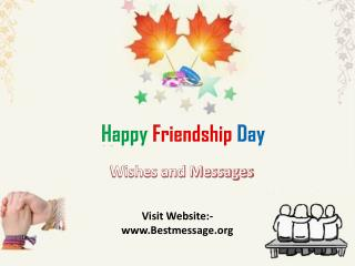Special Happy Friendship Day Wishes to Best Friend
