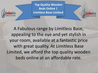 Limitless Base Limited - Online Wooden Bed Store