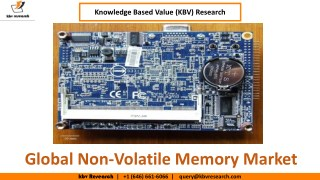 Global Non-Volatile Memory Market Growth