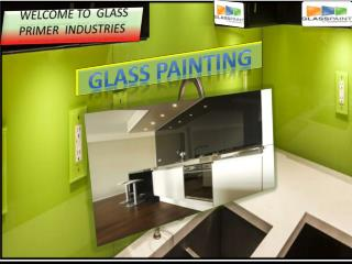 Glass painting in usa