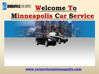 Airport Limousine Services in Minneapolis | Minneapolis Car Service