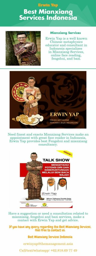 Best Mianxiang Services indonesia