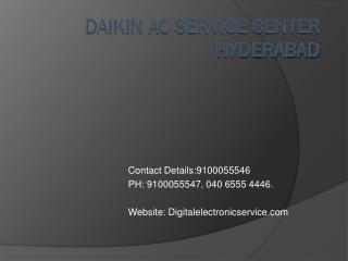 Daikin Ac Service Center Hyderabad