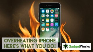 Overheating iPhone here's what you do! - MyGadgetWorks