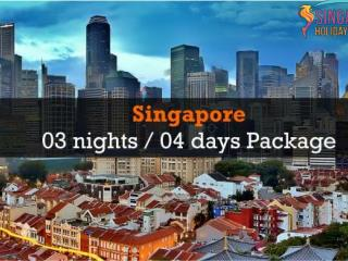 Singapore Four Days Package | Singapore Holiday Packages
