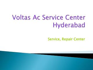 Voltas Ac Service Center Hyderabad