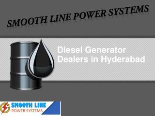 Diesel generator dealers in hyderabad