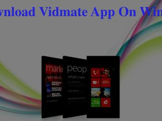 How To Download Vidmate App On Windows Phone