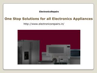 Refrigerator Service Centre in Hyderabad - Electronicsrepairs