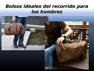 Bolsos ideales del recorrido para los hombres