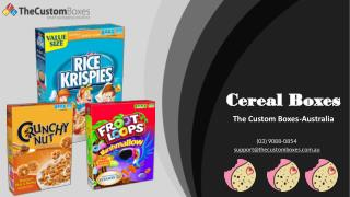How to save money on Cereal Boxes