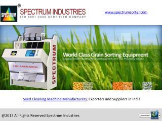 Color Sorting Machine Exporters