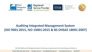 Auditing Integrated Management System