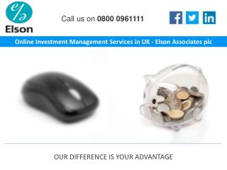 Online Investment Management Services in UK - Elson Associates plc