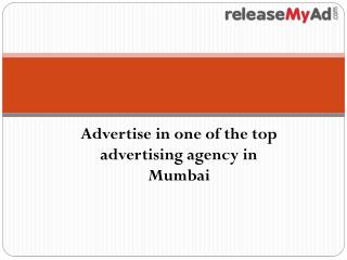 The top Advertising Agency in Mumbai.