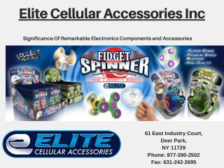 Significance Of Electronics And Accessories