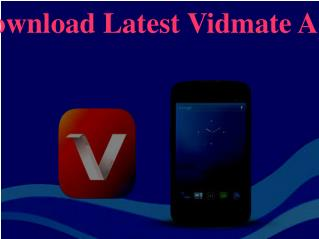 Download Latest Vidmate App