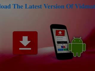 Download The Latest Version Of Vidmate App