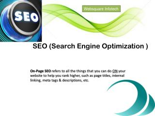 Websquare Infotech offering affordable Search Engine Optimization