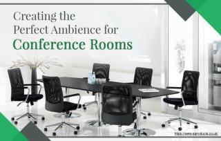 How Can Lighting Contribute Towards A Good Ambience In Conference Rooms?