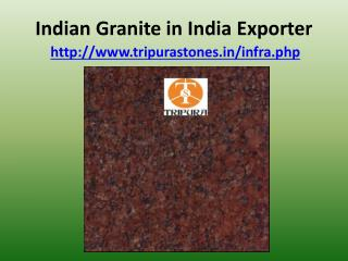 Indian Granite in India Exporter