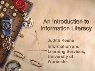 An Introduction to Information Literacy