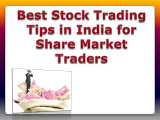 Best Stock Trading Tips in India for Share Market Traders