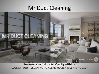 Ducted Heating And Cooling Melbourne - Mr Duct Cleaning