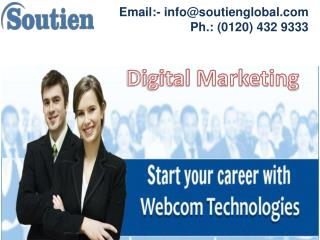 Get Certified By Digital Marketing Course in Noida | SEO Training | Soutien