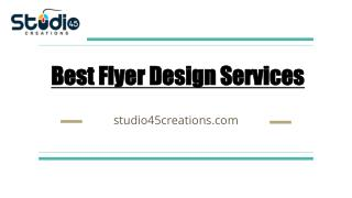 Best Flyer Design Services in California