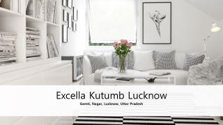 Luxury homes in Lucknow | Excella Kutumb Lucknow