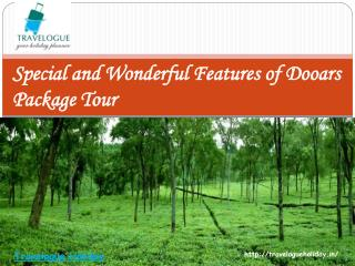 Special and Wonderful Features of Dooars Package Tour