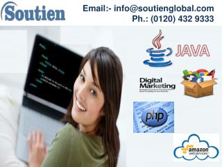 3 months Java Training in Noida by Soutien Infotech