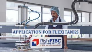 Applications for Flexitanks